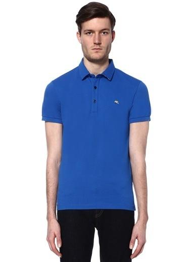 Etro Polo Yaka Tişört Mavi